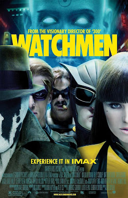 Watchmen IMAX Theatrical One Sheet Movie Poster