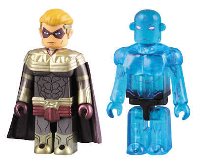 Watchmen Kubrick Vinyl Figures - Ozymandias &amp; Dr. Manhattan