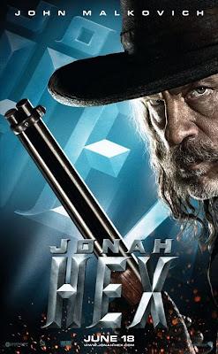 Jonah Hex One Sheet Character Movie Poster Set - John Malkovich as Turnbull