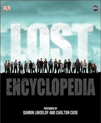 The Official LOST Encyclopedia Hardcover Book Cover