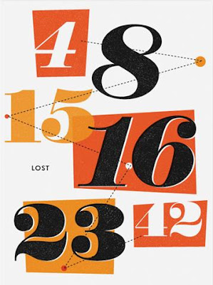 LOST Screen Print Series 3 - The Numbers by Ty Mattson