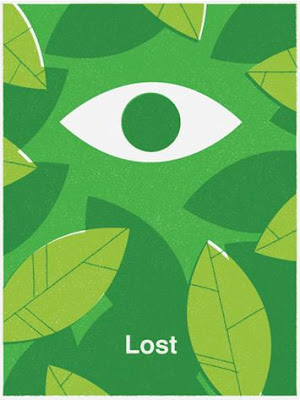 LOST Screen Print Series 3 - The Eye by Ty Mattson