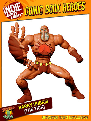 San Diego Comic-Con 2010 Exclusive Barry Hubris (from The Tick) Action Figure by Shocker Toys
