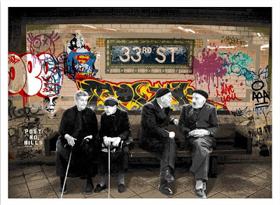 33rd St Print by Mr. Brainwash