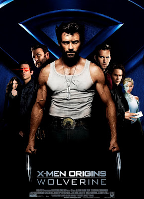 X-Men Origins: Wolverine Theatrical One Sheet Movie Poster