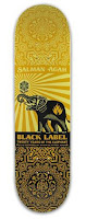 OBEY Giant Black Label 20th Anniversary Series Skate Deck designed by Shepard Fairey