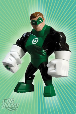 DC Direct Uni-Formz Vinyl Figures - Classic Green Lanter Colorway