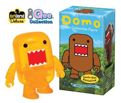 2009 San Diego Comic Con Exclusive Translucent Domo 2 Inch Qee