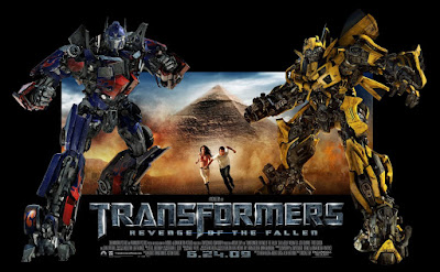 Transformers: Revenge of the Fallen Promotional Movie Standee