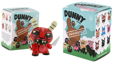 Kidrobot - Dunny Endangered! 3 Inch Series Blind Box Artwork by Jeremyville and Joe Ledbetter Dunny