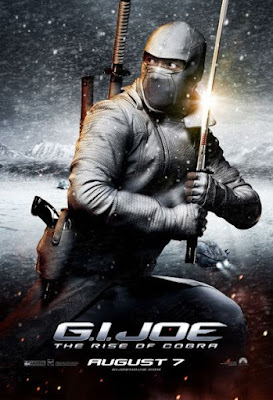 G.I. Joe: Rise of Cobra Character Movie Posters Set 3 - Byung-hun Lee as Storm Shadow