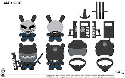 Kidrobot - Riot Dunny Concept Design by MAD