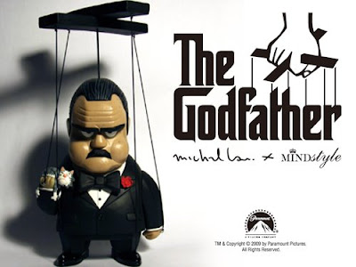 Michael Lau x Mindstyle The Godfather Marionette Designer Vinyl Figure