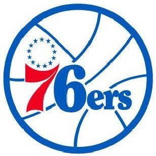 The Philadelphia 76ers 2009 Official Logo