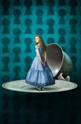 Tim Burton's Alice In Wonderland Promotional Photos - Mia Wasikowska as Alice Kingsley