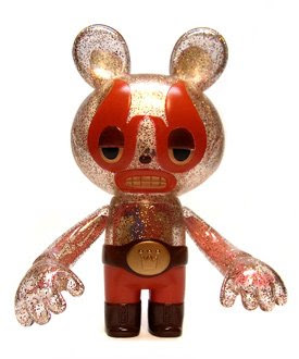 Super7 San Diego Comic Con 2009 Exclusive Red Devil Lucha Bear by Itokin Park