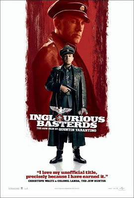Inglourious Basterds Character Movie Posters Set 2 - Christoph Waltz is Colonel Landa, The Jew Hunter