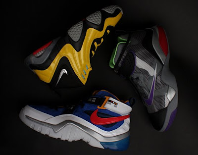 The Nike x Transformers Sneaker Set - Megatron Zoom Flight Club, Soundwave Zoom Sharkalaid & Bumblebee Zoom FP Sneakers