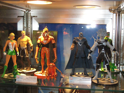 DC Direct – Blackest Night Series 3 & 4 Action Figures Green Lantern Arisa, Black Lantern Aquaman, Larfleeze the Orange Lantern with Glomulus, Black Hand, Black Lantern Firestorm, Green Lantern Kyle Rayner
