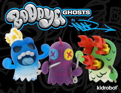 Kidrobot - BoOoya Ghosts Mini Series by MAD