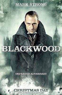 Sherlock Holmes Character Movie Posters - Mark Strong as Lord Blackwood