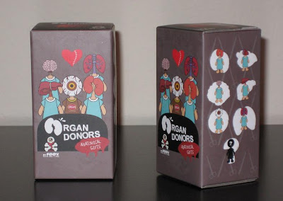 Organ Donors by Foox Blind Box Packaging