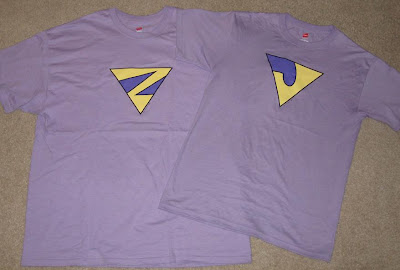 Graphitti Designs - Wonder Twins Zan and Jayna T-Shirts