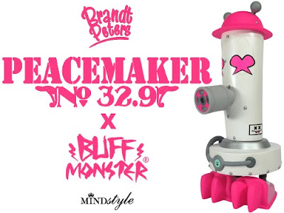 Buff Monster x Brandt Peters Peacemaker No. 32.9