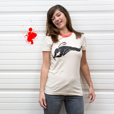 Threadless - Ninja! Heads Will Roll! T-Shirt by Marco Angeles