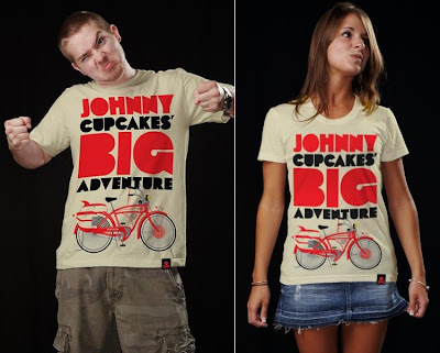 Johnny Cupcakes x Pee-wee's Big Adventure - Johnny Cupcakes' Big Adventure Guys and Girls T-Shirts