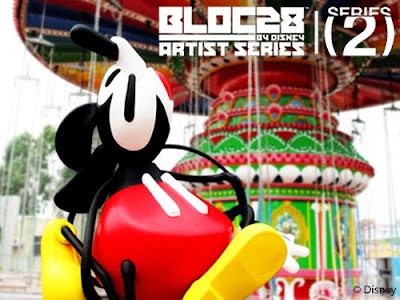 MINDstyle x Disney Art Toy Collectibles - Bloc28 Mickey Mouse Vinyl Figure by Suiko