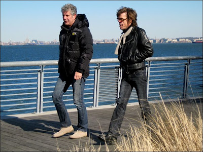 Anthony Bourdain: No Reservations - New York Outer Boroughs - Tony and the NY Dolls' David Johansen