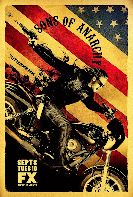 Sons of Anarchy Season 2 Promo Television Poster