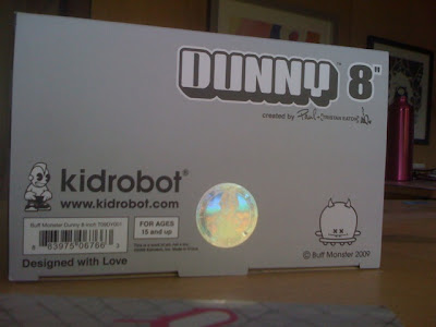 Kidrobot - Buff Monster 8 Inch Dunny Packaging Teaser Photo