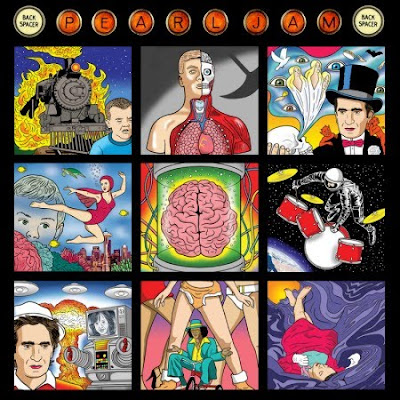 Pearl Jam - Backspacer Album Cover by Tom Tomorrow