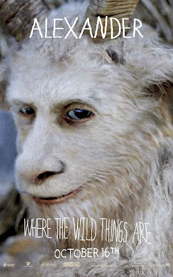 Where The Wild Things Are Promo Character Movie Posters - Paul Dano as Alexander