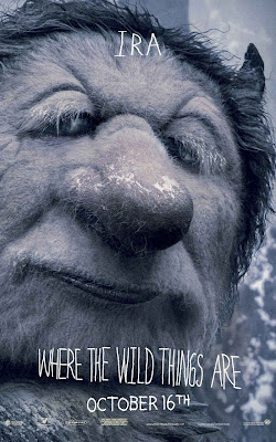 Where The Wild Things Are Promo Character Movie Posters - Forest Whitaker as Ira