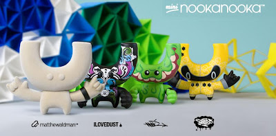 Mini NookaNooka Vinyl Figure Artist Series by Nooka