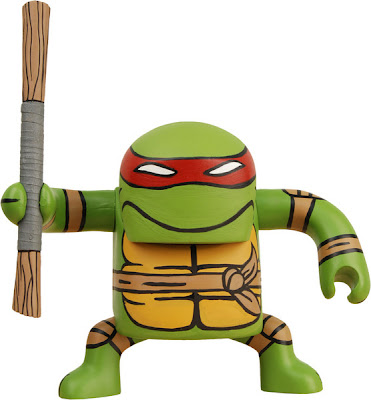 Donatello Teenage Mutant Ninja Turtle BATSU Vinyl Figure by NECA