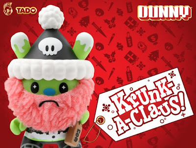 Kidrobot - Krunk-A-Claus 3 Inch Holiday Dunny by TADO