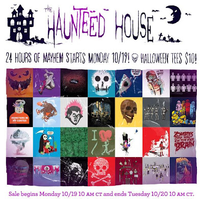 Threadless 24 Hour $10 Hallow-Tees Sale - Monday October 19th, 2009