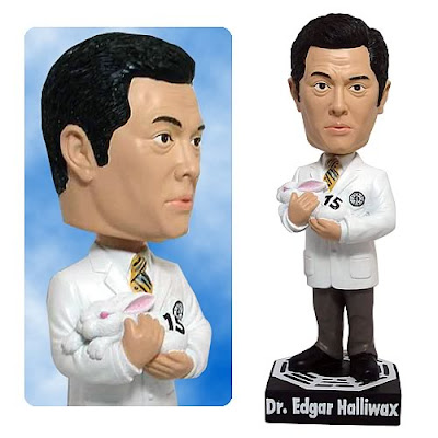 The Dr. Edgar Halliwax 7 Inch Lost Bobble Head
