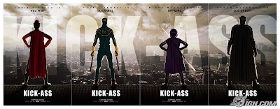 Kick-Ass One Sheet Character Movie Posters Set 1