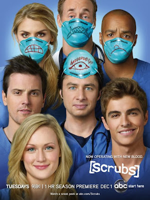 Scrubs Season 9 Television Promo Poster