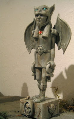 Lost Underground Art Project at Gallery 1988 - Custom Taweret Resin Statue by Nemo