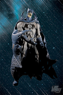 DC Direct Blackest Night Series 5 - Black Lantern Batman Action Figure