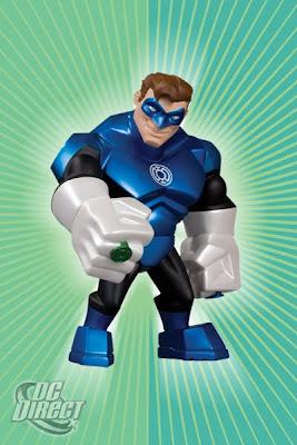 DC Direct Uni-Formz Green Lantern Vinyl Figures - Blue Lantern Colorway