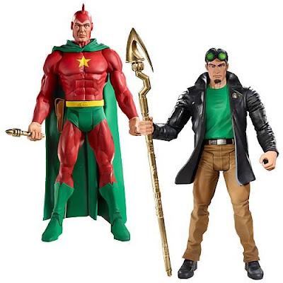 DC Universe Classics Series 15 - Classic Starman Ted Knight and Modern Starman Jack Knight Action Figures