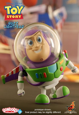 Toy Story 6 Inch CosBaby Vinyl Figures by Hot Toys - Buzz Lightyear