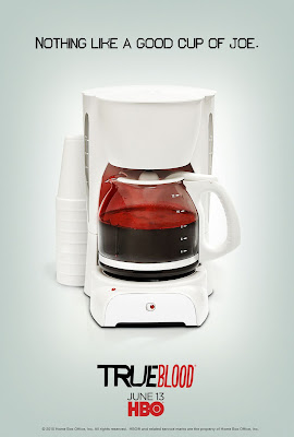 True Blood Season 3 One Sheet Television Teaser Poster - Nothing Like A Good Cup Of Joe